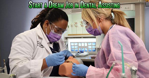 dental assisting job